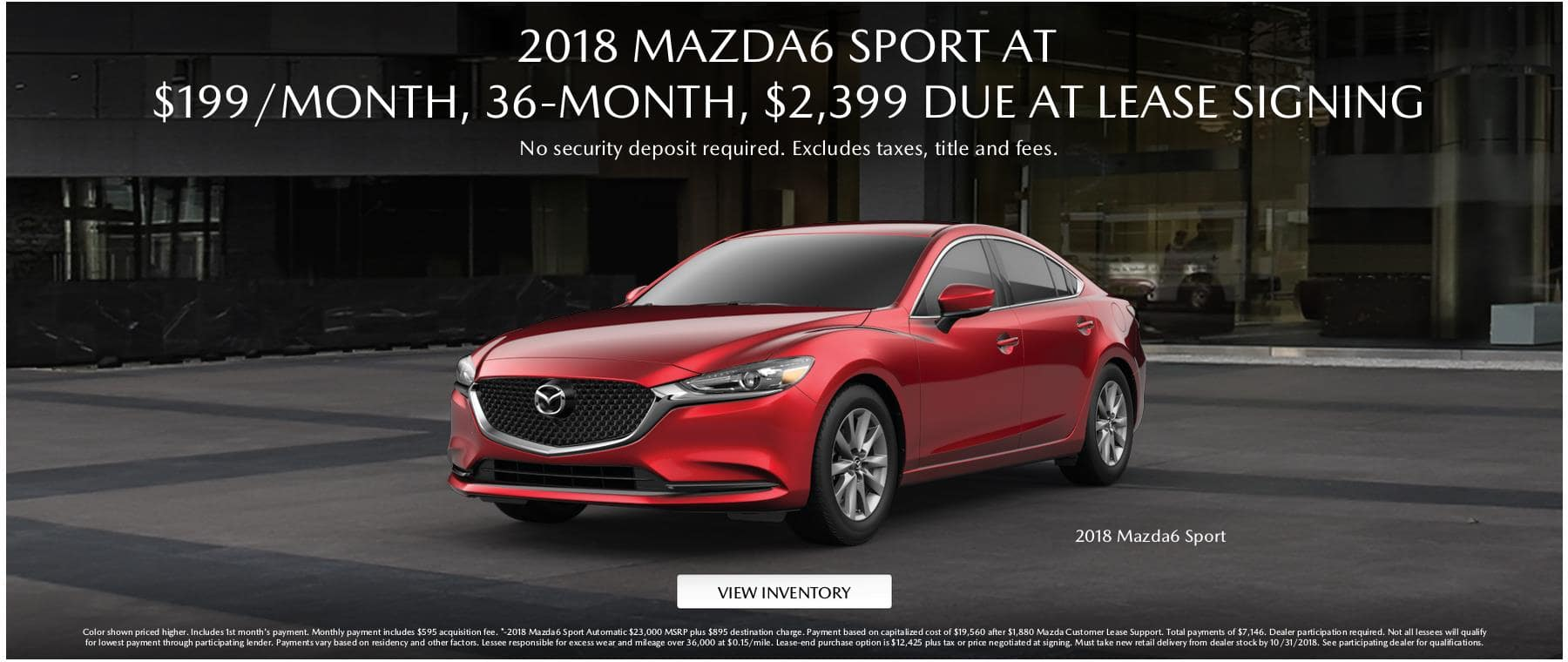 Mazda6 Lease