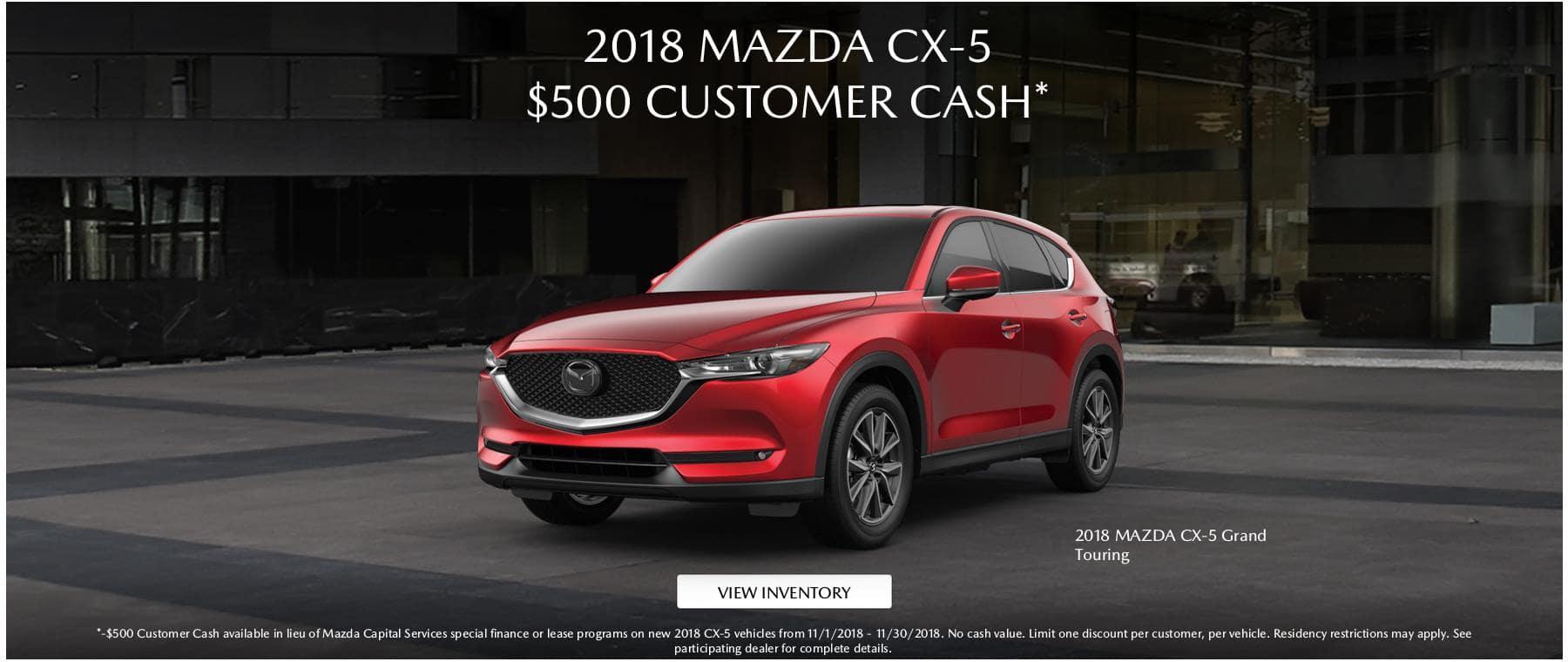 2018 Mazda CX5 500 CC