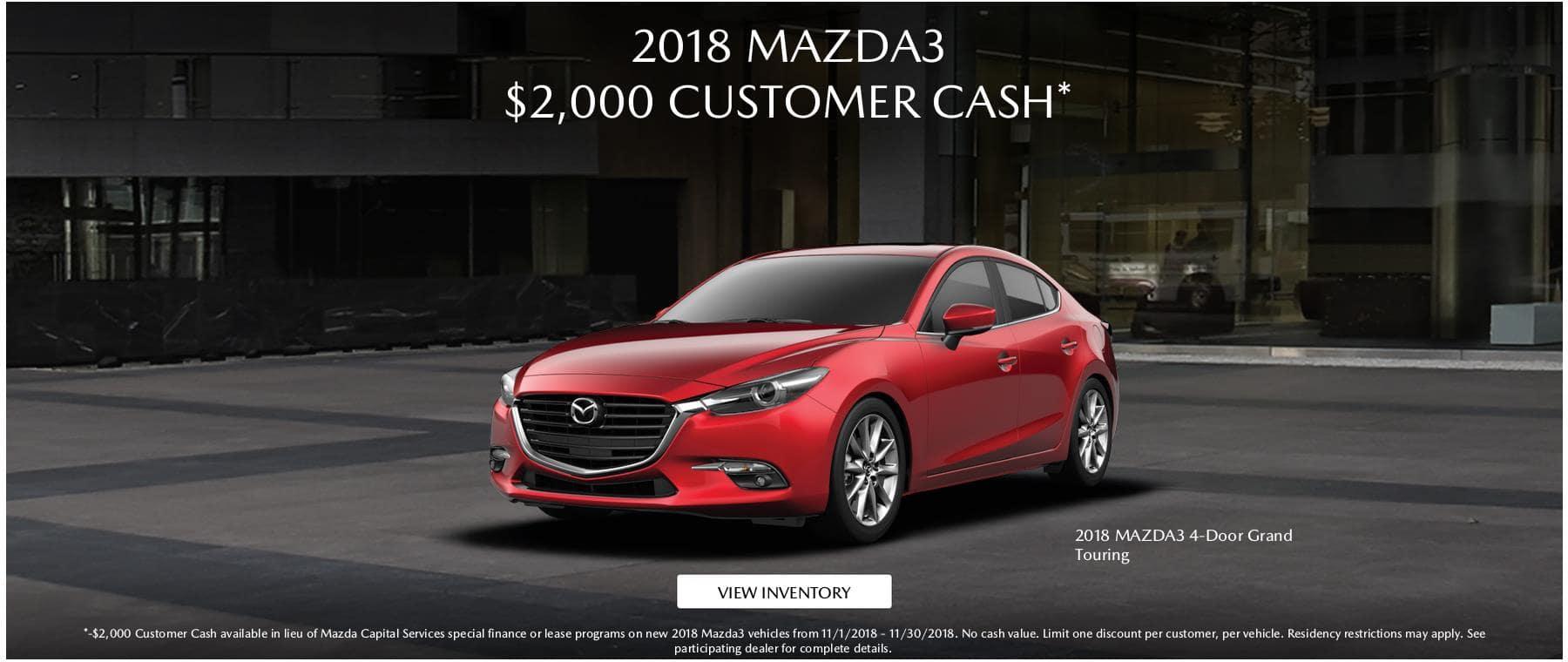 2018 Mazda3 2000 CC