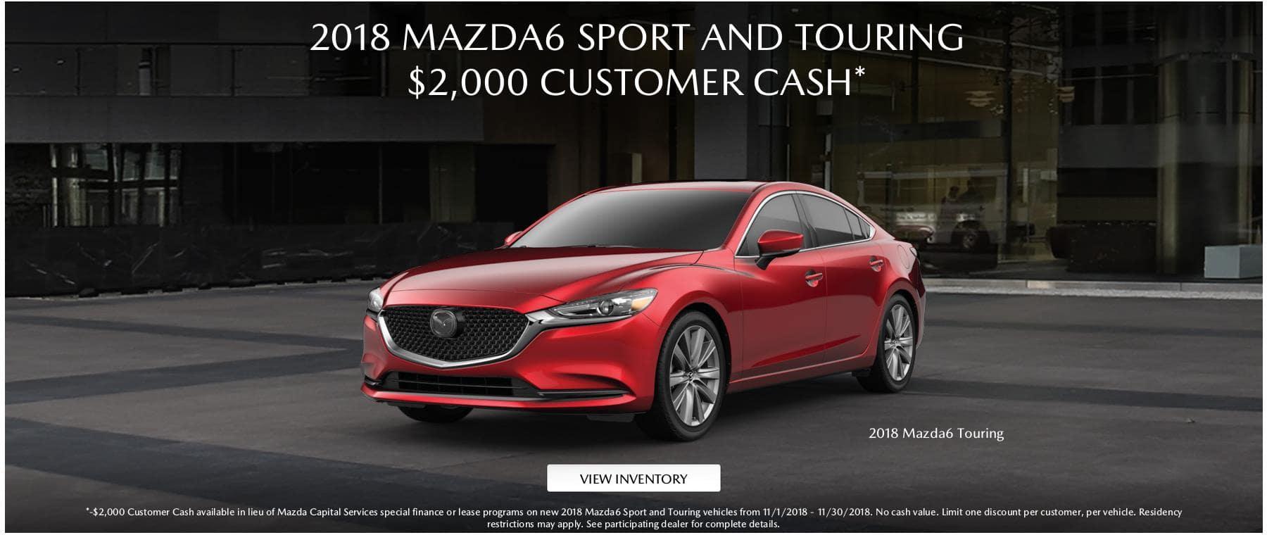 2018 Mazda6 2000 CC