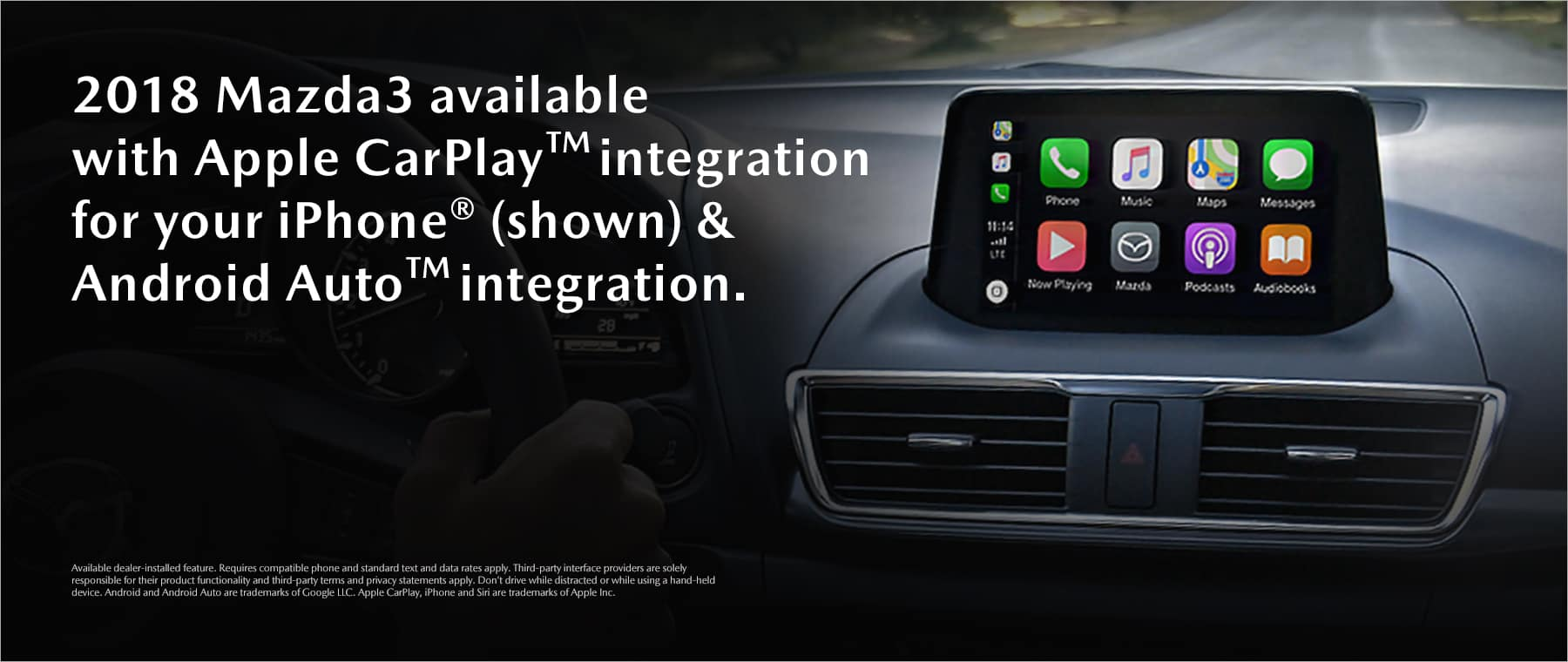 Mazda3 Apple Car Play