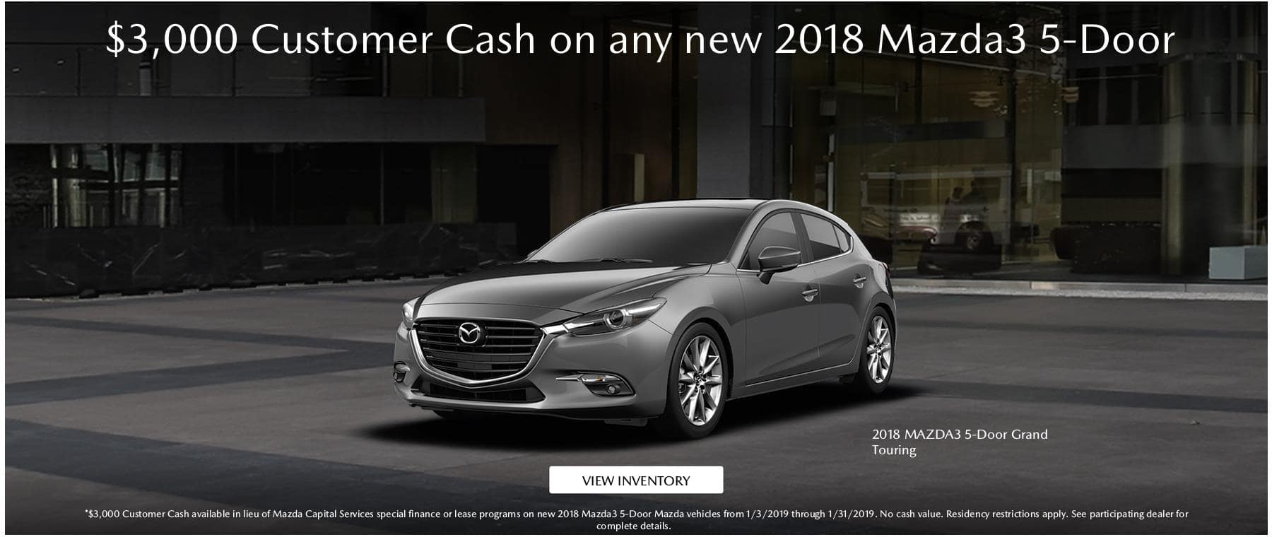 MY18 Mazda3 CC Jan