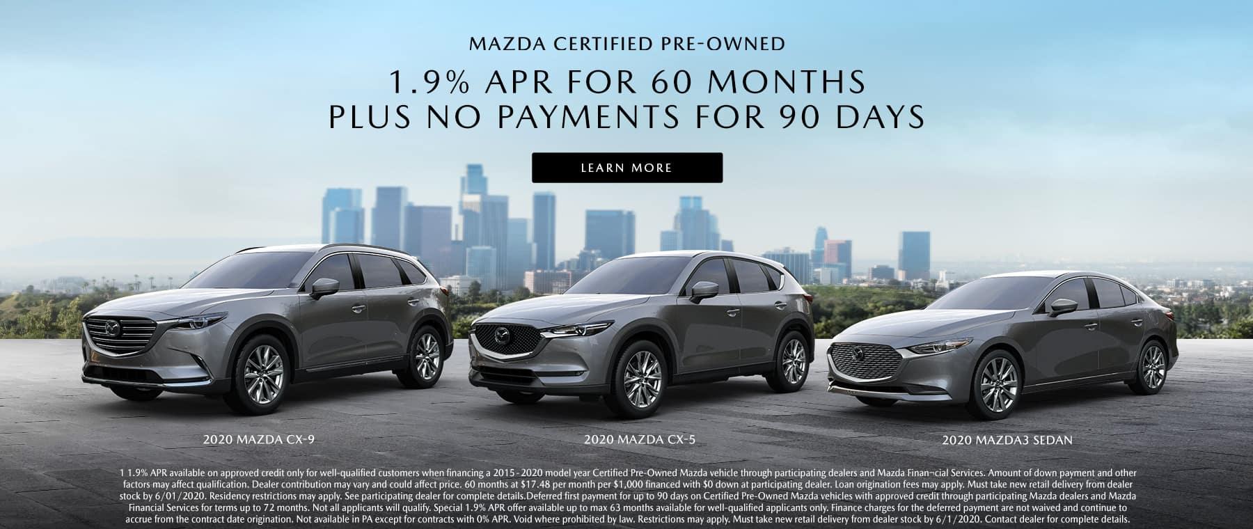 Mazda CPO Offer