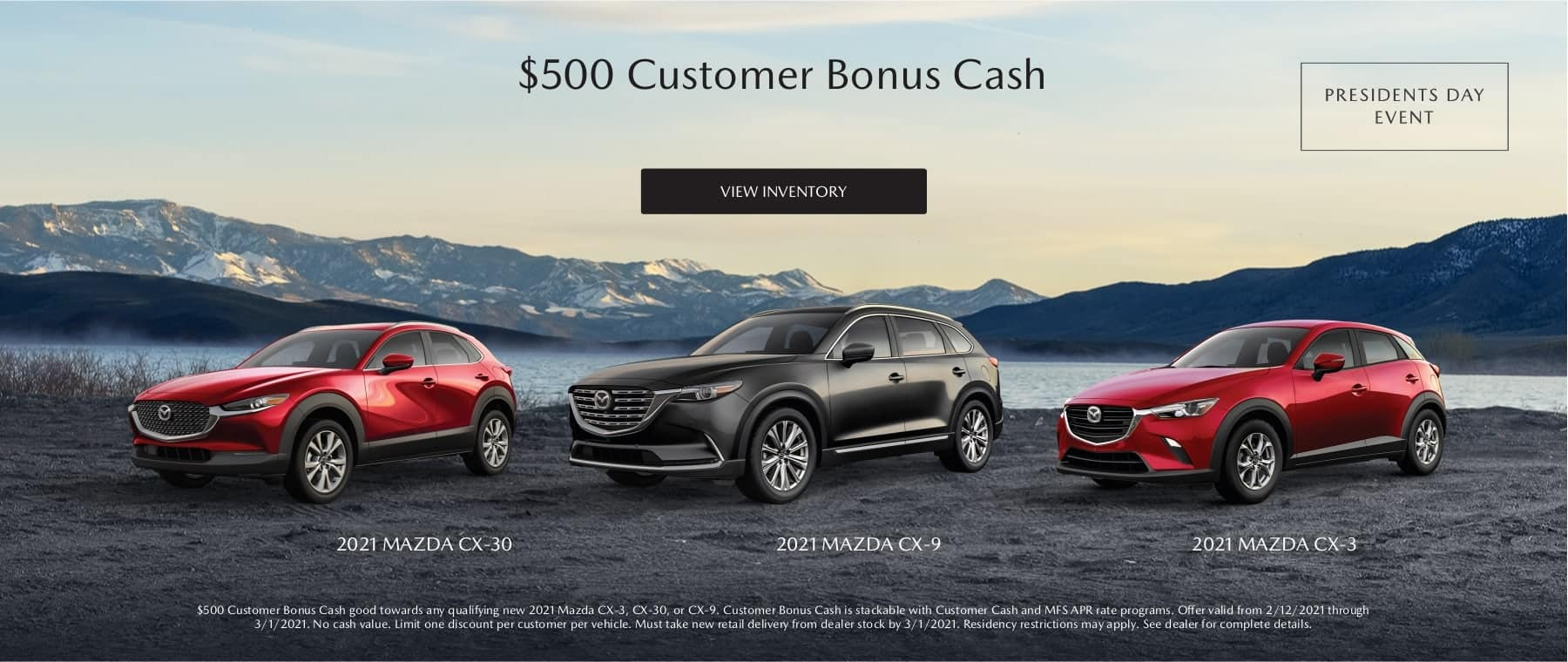 $500 Customer Bonus Cash