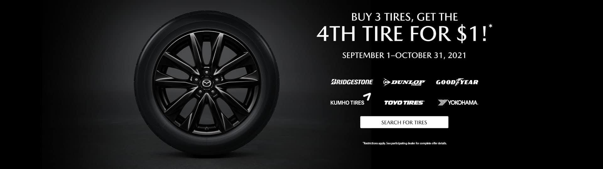 Mazda Car Care – Wheel Balance, Tire Rotation & Brake Inspection
