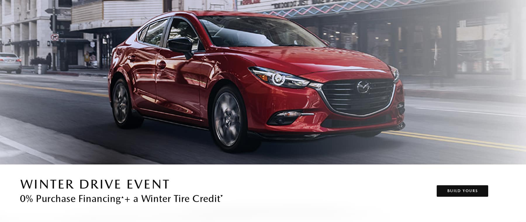 Winter Drive Event + A Winter Credit