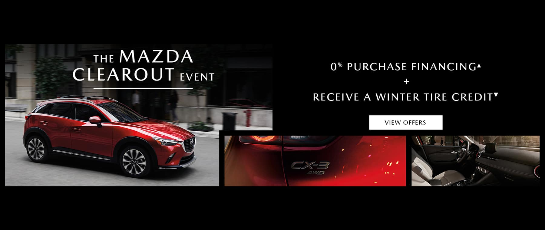 mazda-clearout-banner-red-cx3-exterior-and-interior