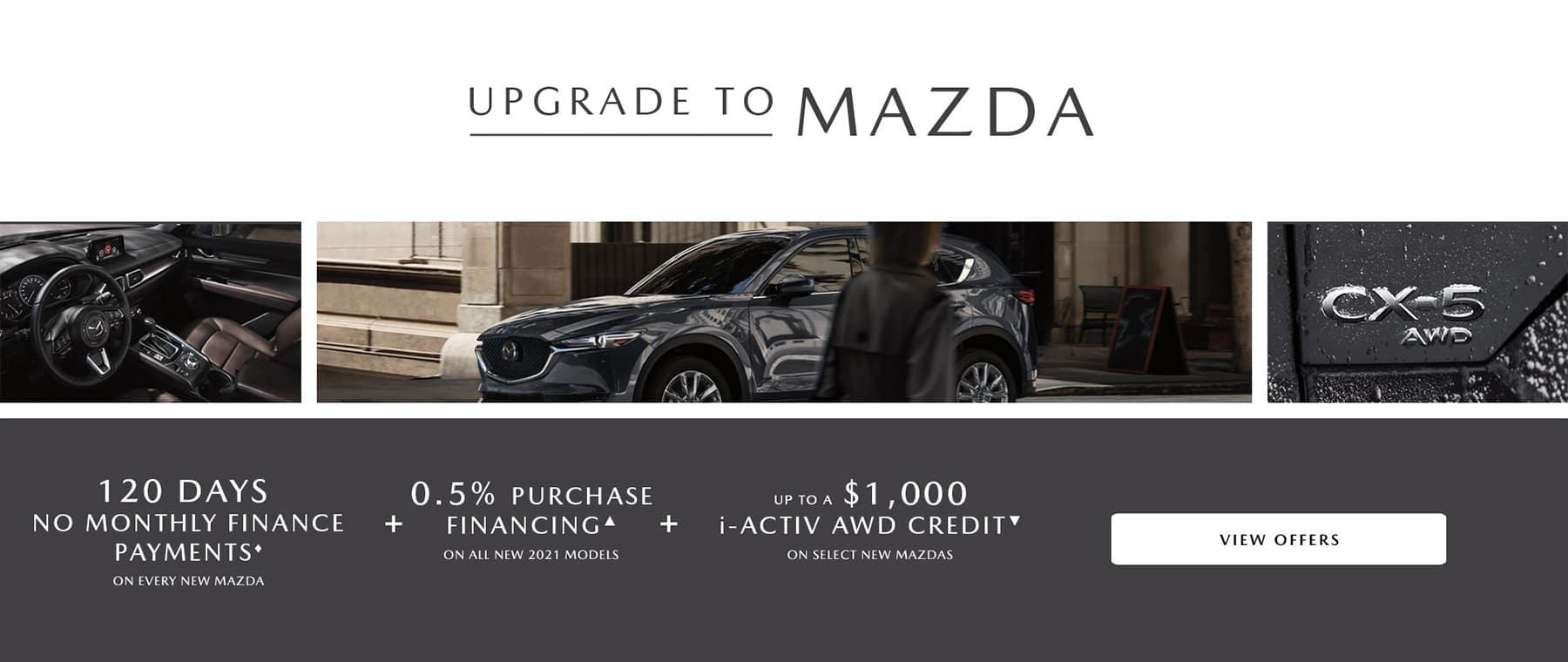 Upgrade to Mazda Event January 2021