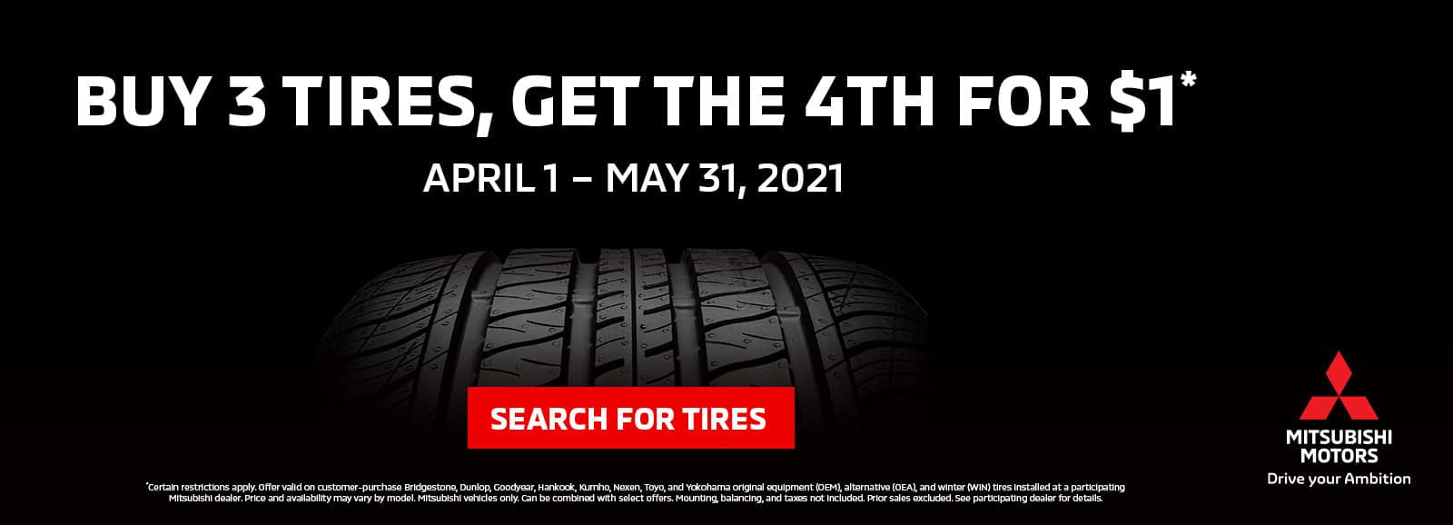 Mitsubishi Spring Tire Special