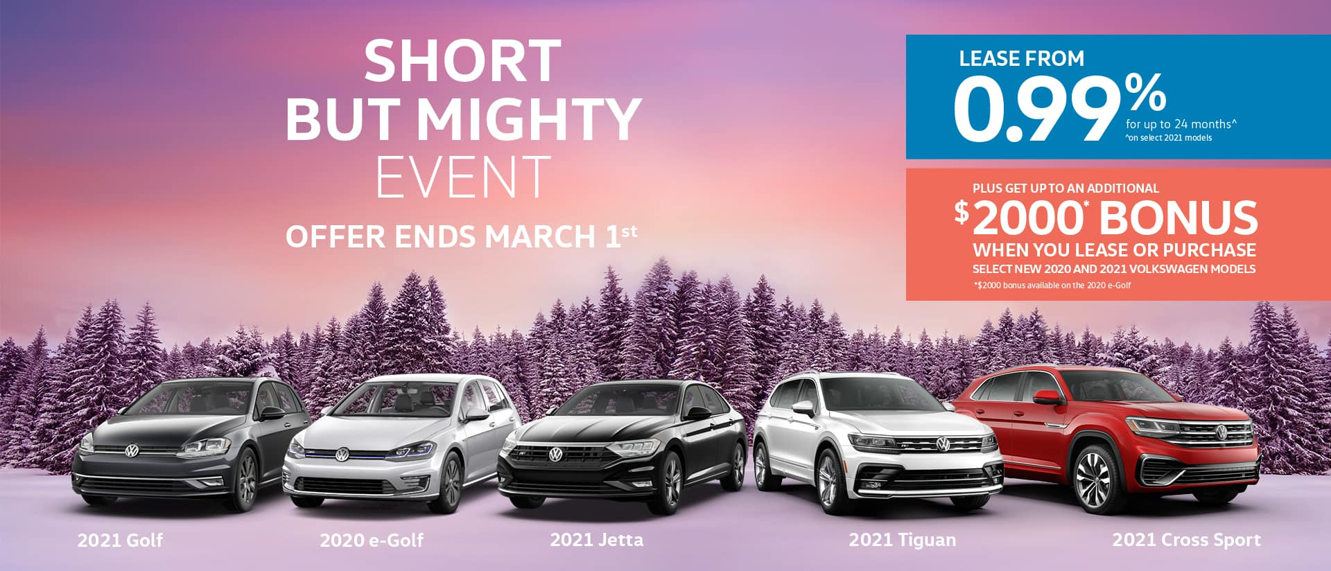 Short by Might Event promotion