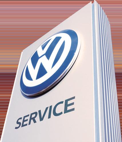 VW Service logo