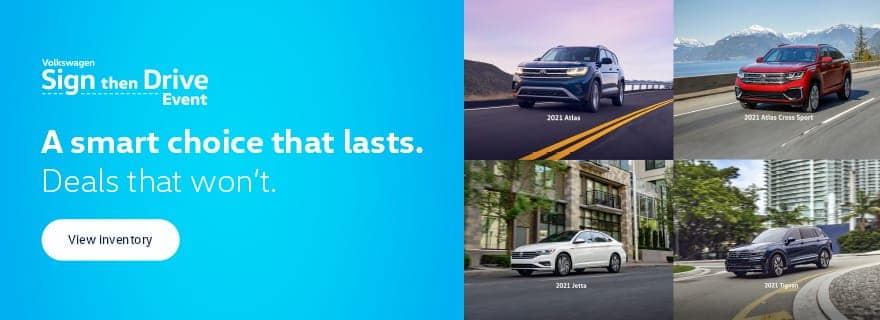 Volkswagen Spring Sales Event 2021