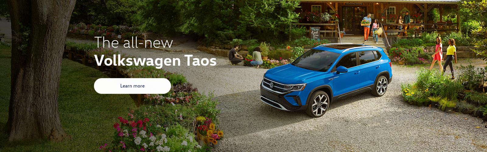All new Volkswagen Taos