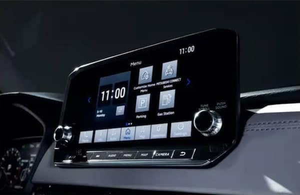 2022 Mitsubishi Outlander Full Digital Driver Display