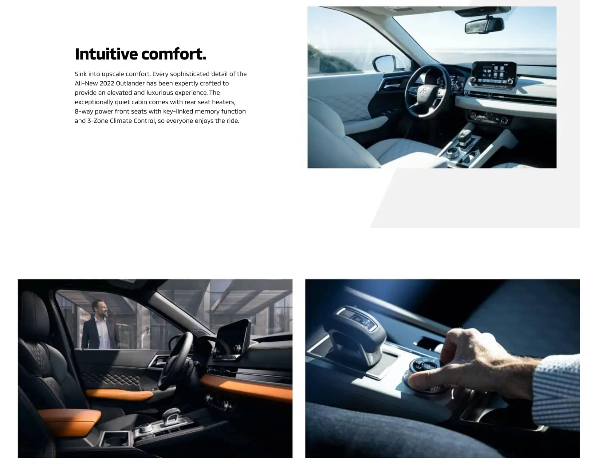 2022 Mitsubishi Outlander Intuitive Comfort