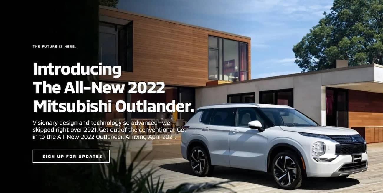 Introducing The 2022 Mitsubishi Outlander