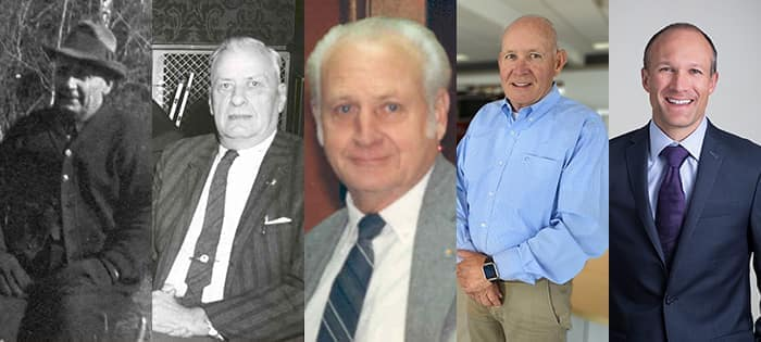 collage of owners