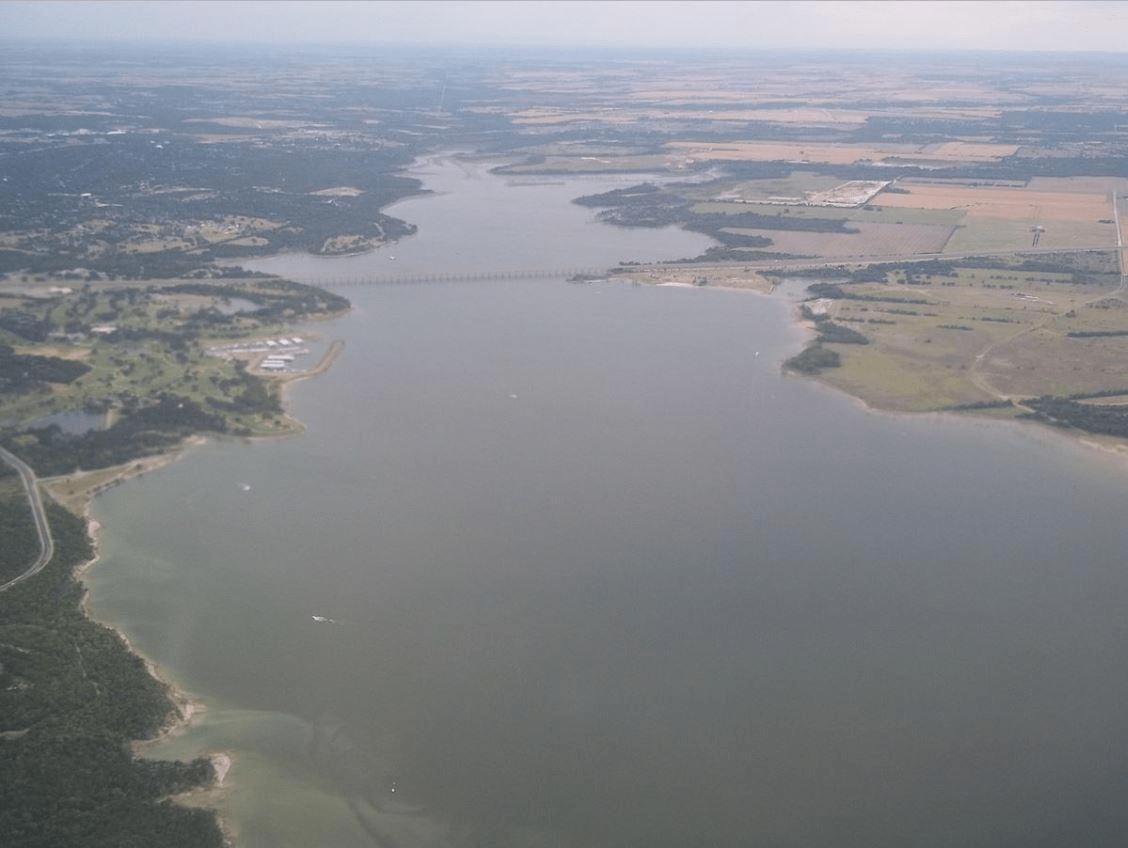Lake_Waco_Aerial_View