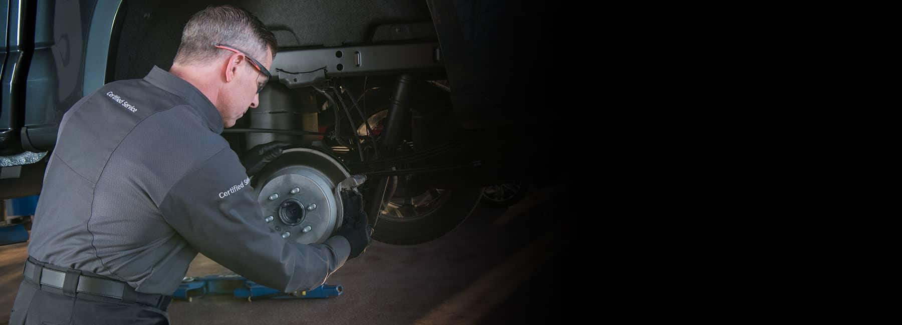 GM Certified Service Technician Replacing Rotors