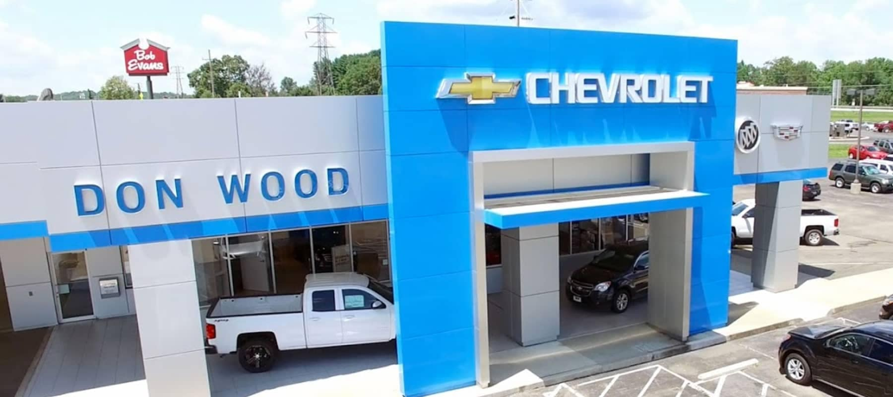 exterior view of dealership entrance