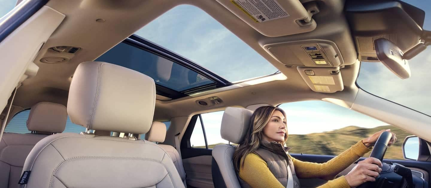 2020 Ford Explorer Interior Sunroof