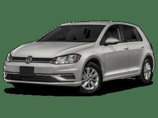 2019 VW Golf angled