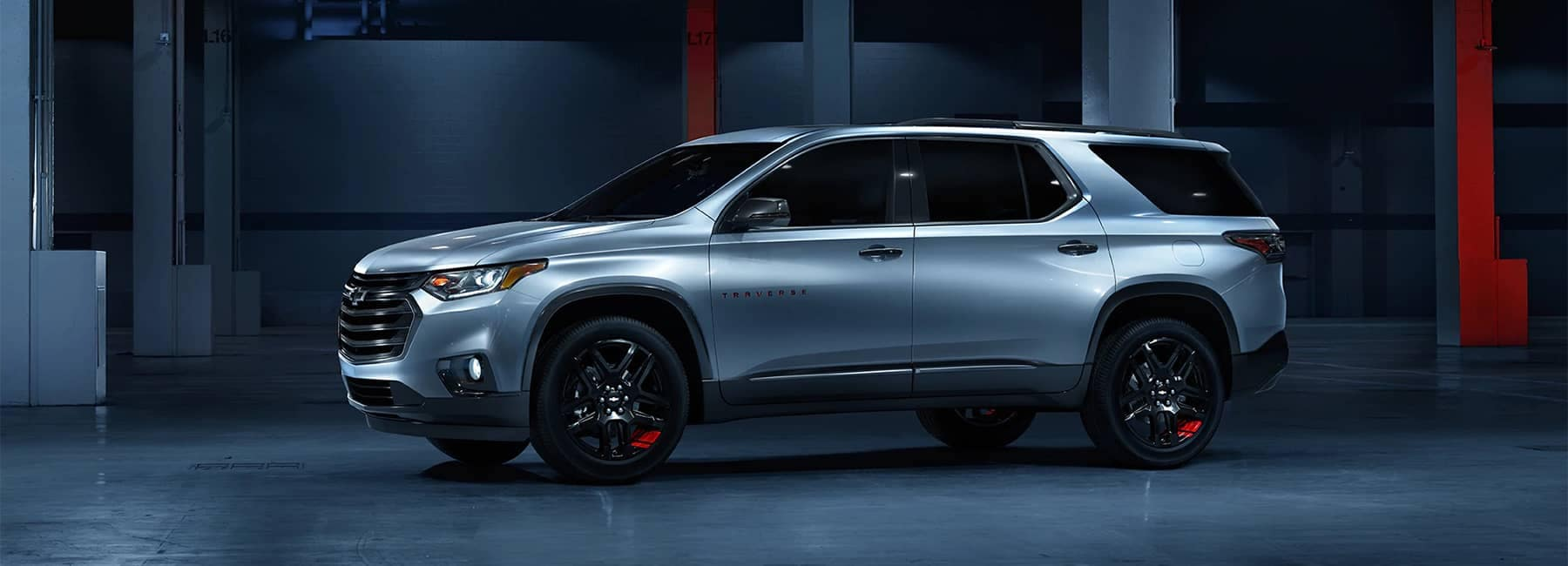 2020 Chevrolet Traverse Redline Mid-Size SUV Side Exterior