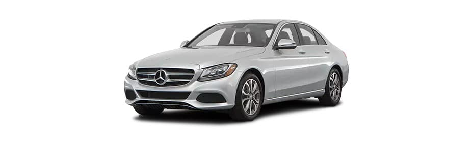 Drive a new 2018 mercedes benz c class c 300 sedan for for Mercedes benz excess mileage charges