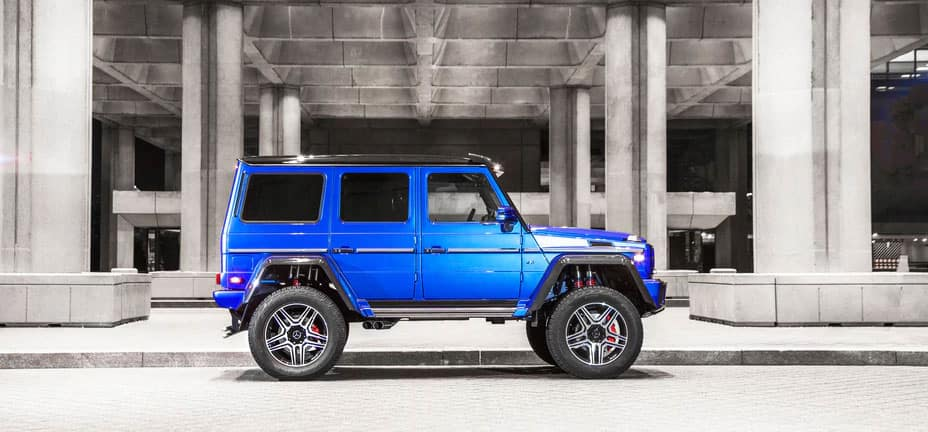 Mercedes benz g550 4x4 wins 2018 motorweek drivers for Downtown la motors mercedes benz