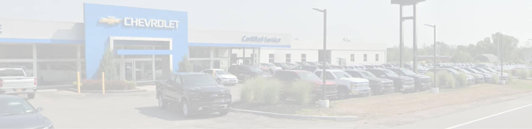 Garber Chevy Webster faded dealership background