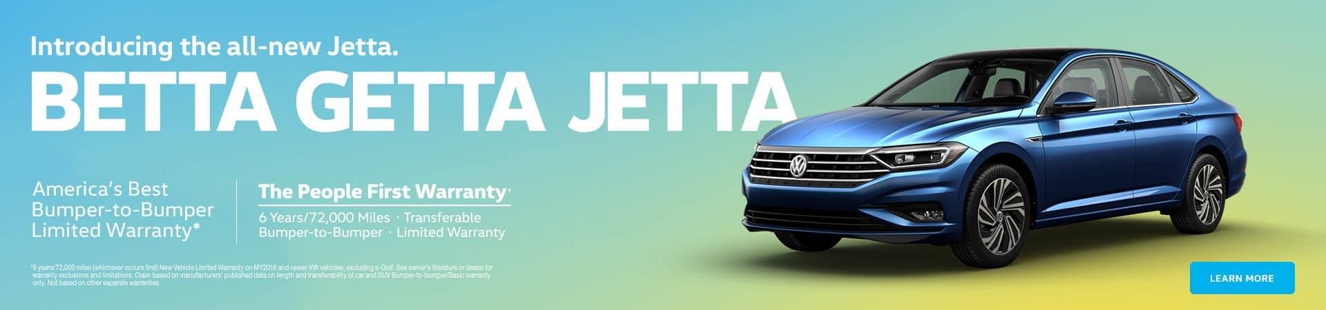 vw JETTA banner