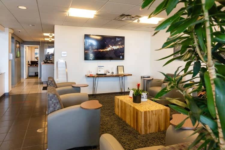 Eastside Mazda Service area waiting room