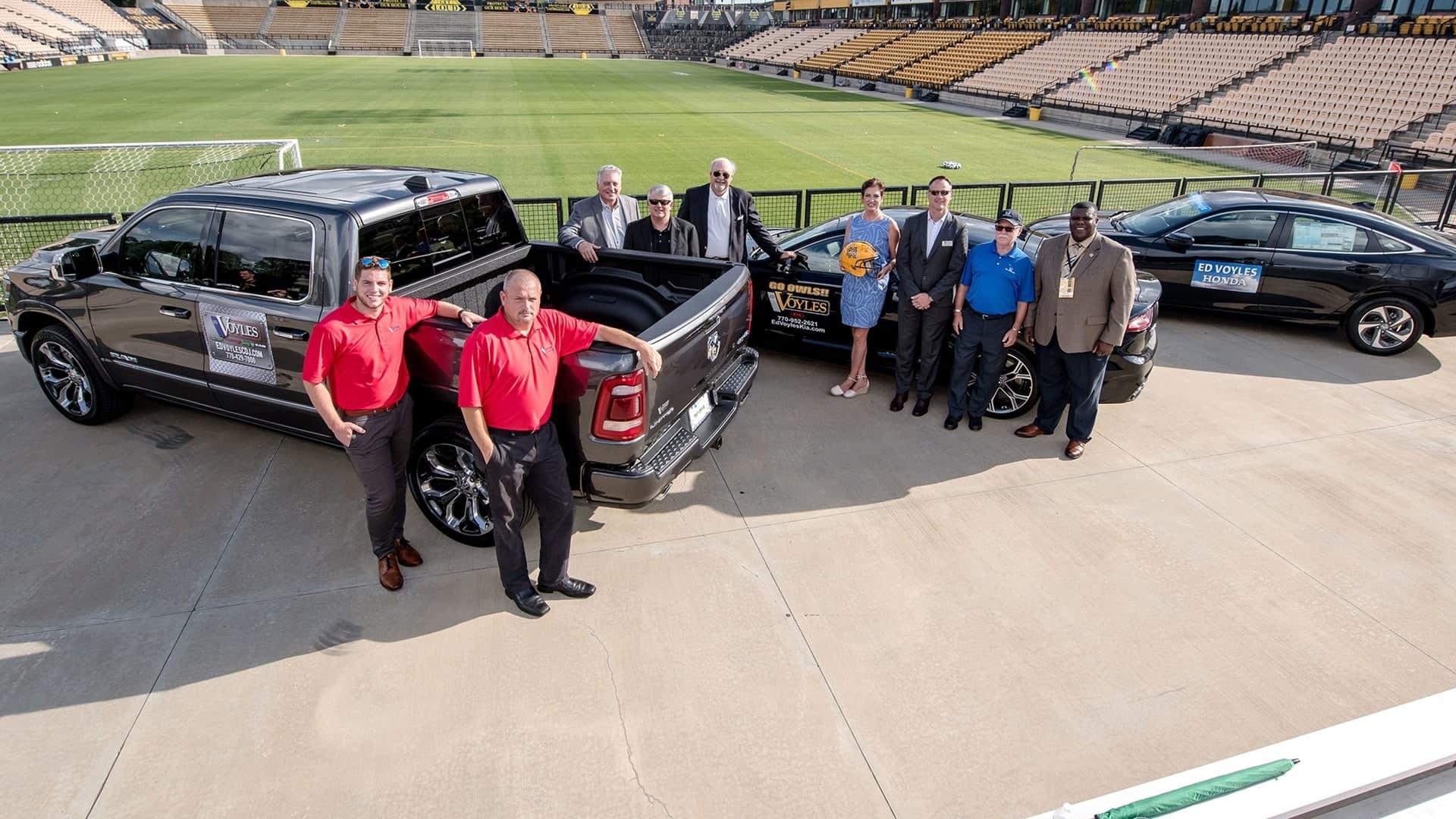 Kennesaw State Signs Partnership with Ed Voyles Automotive – Atlanta, GA