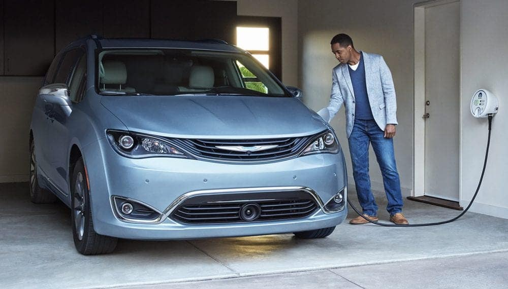 2017 Chrysler Pacifica Hybrid Charging