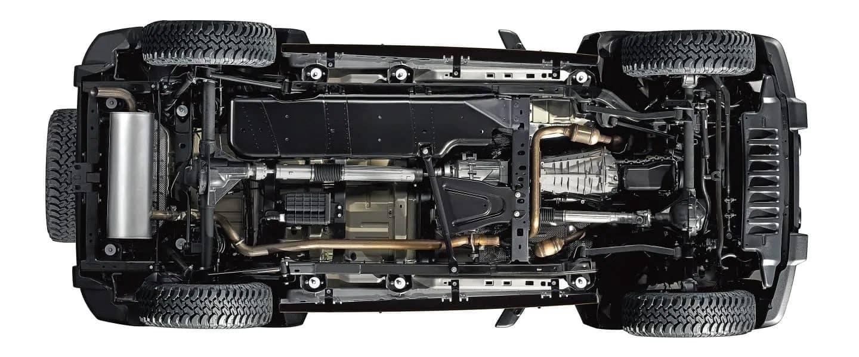 Jeep Wrangler Unlimited Underside