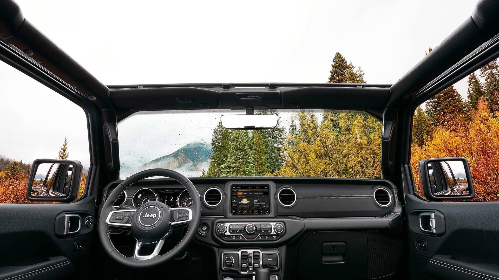 Jeep Wrangler JL Interior