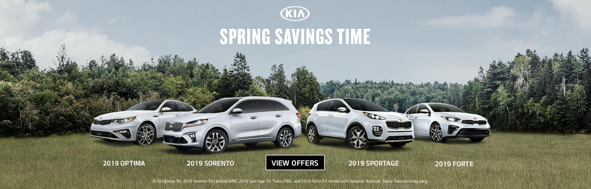 Spring Savings Time desktop
