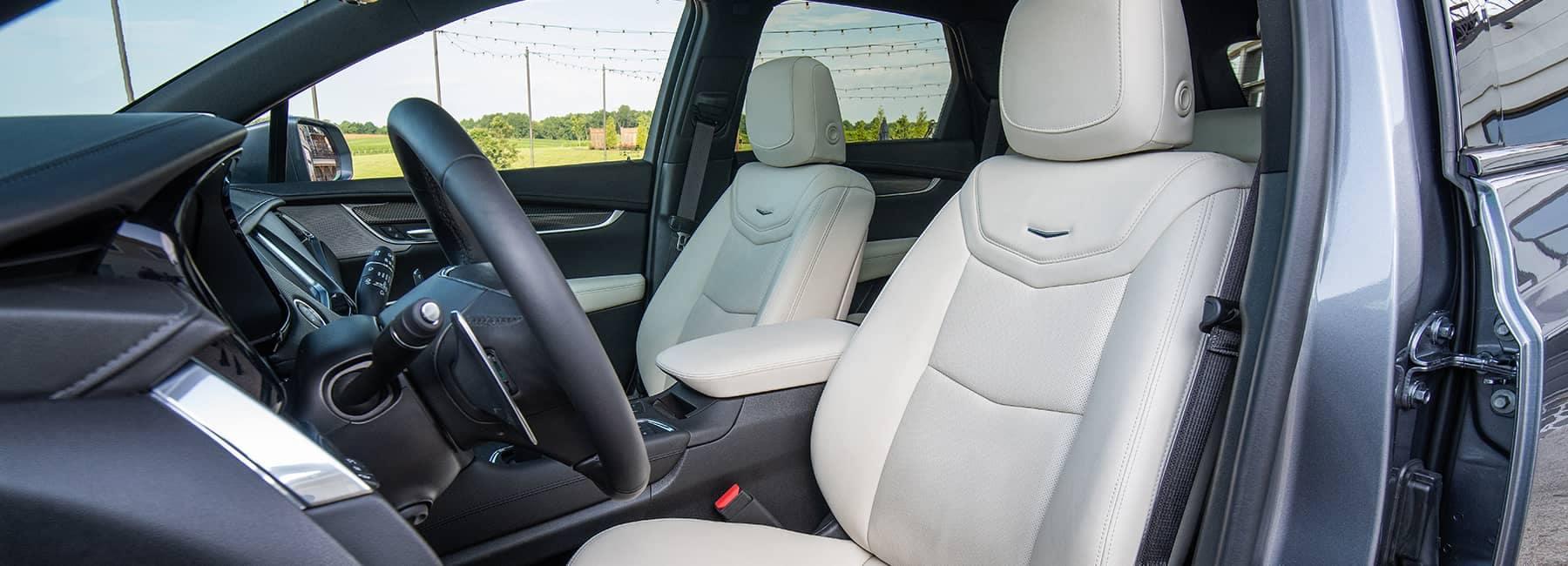 Cadillac leather seats