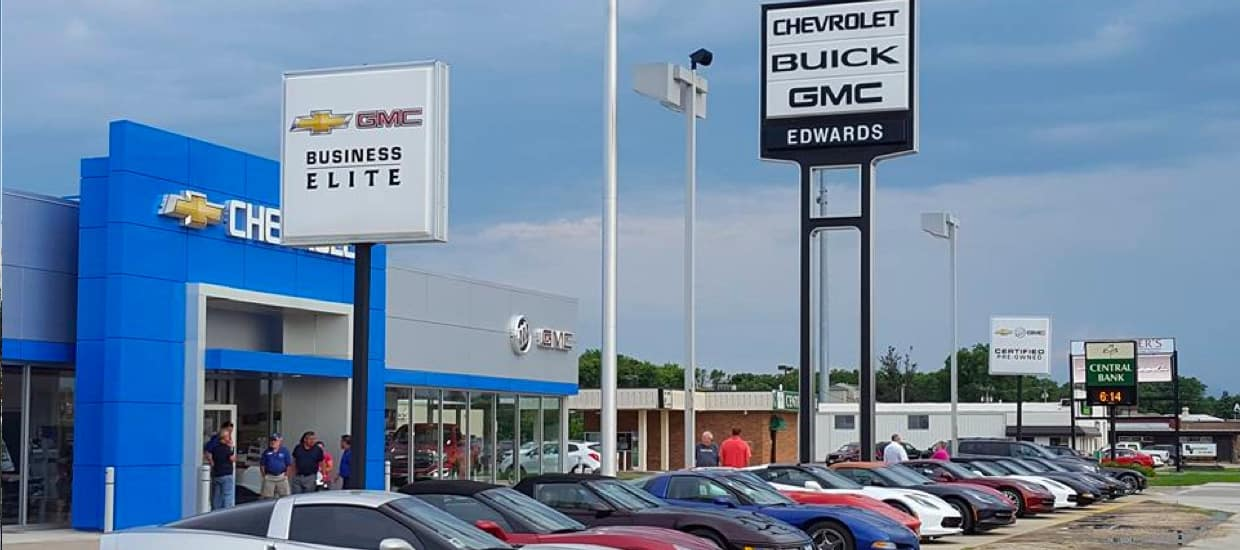 Exterior shot of dealership