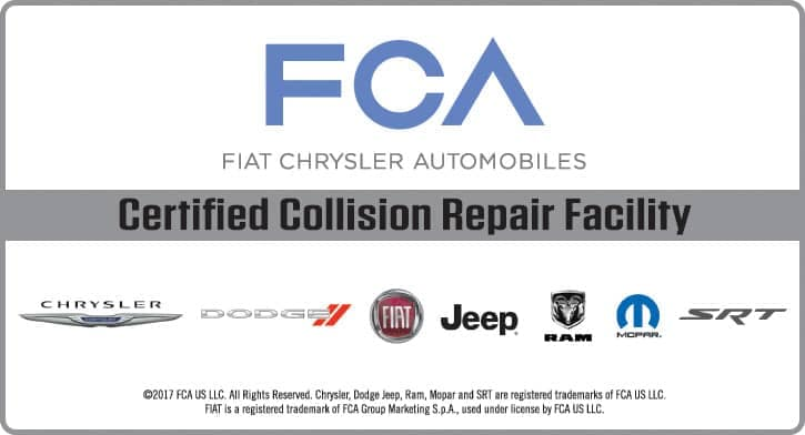 FCA Collision Certified