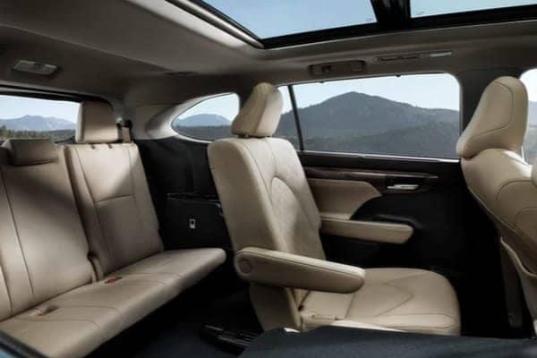 interior highlander seats