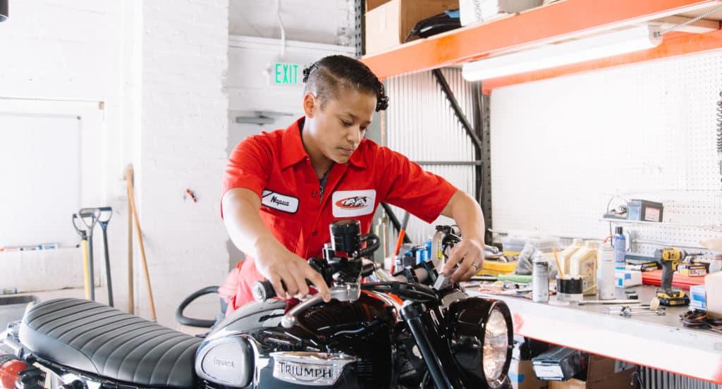 Napua Samoa-Eastman, Technician