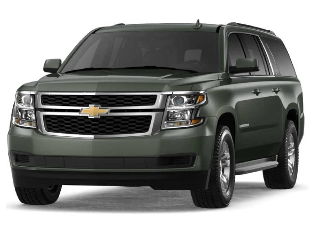 2019 Chevrolet Suburban in Deepwood Green Metallic