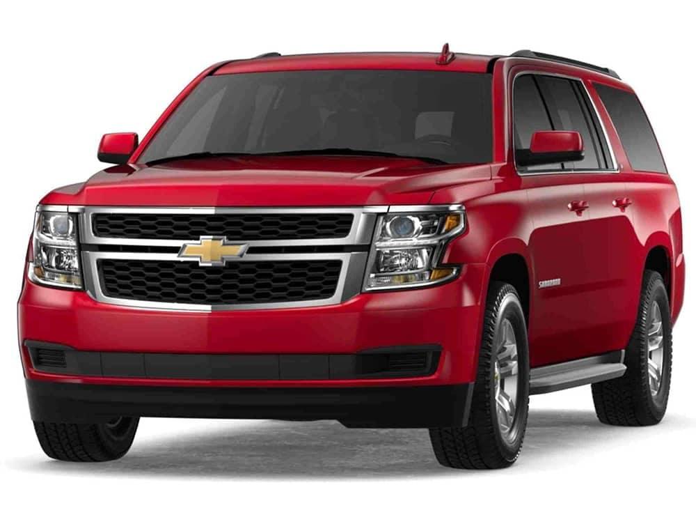 2019 Chevrolet Suburban in Siren Red Tintcoat