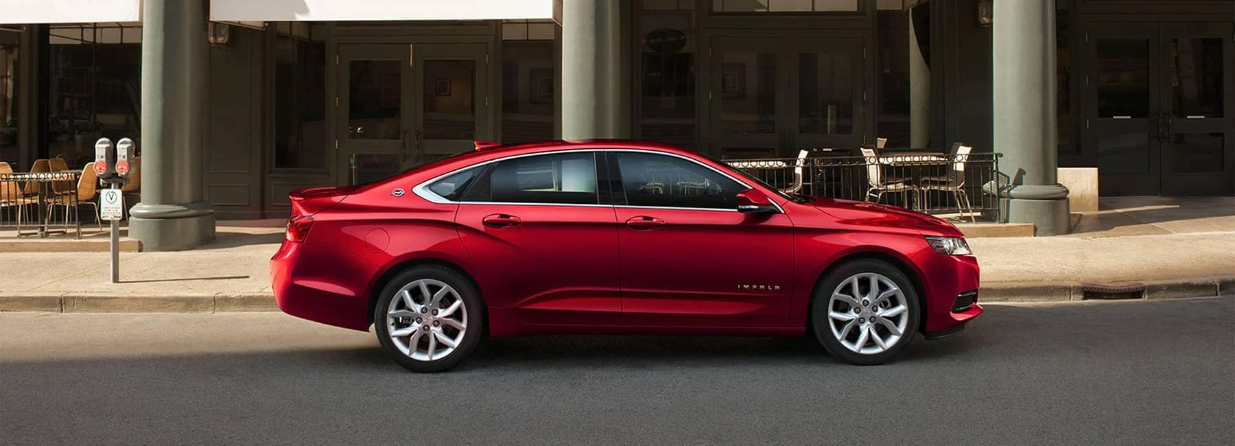 2020 Red Impala Full-Size Car Exterior Side Profile