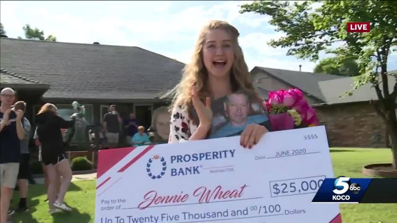 Congrats Jennie Wheat