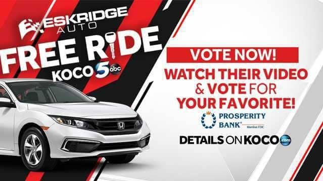 Free Ride Vote Now