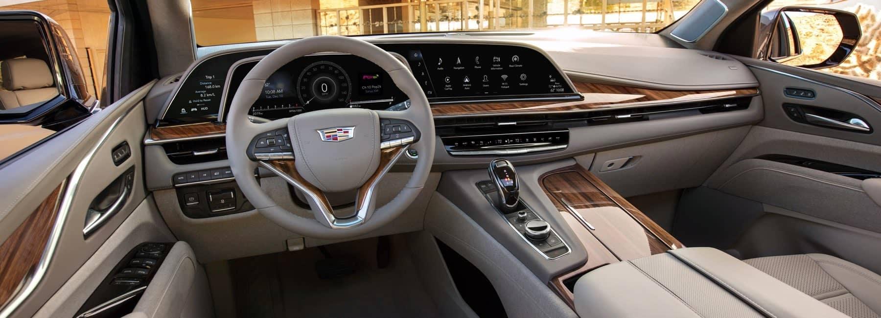 2021 Cadillac Escalade front interior cabin