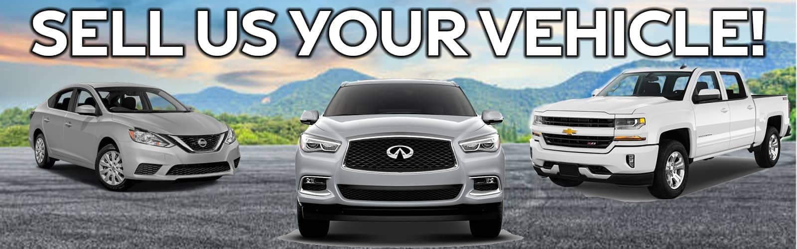 sell us your vehicle banner
