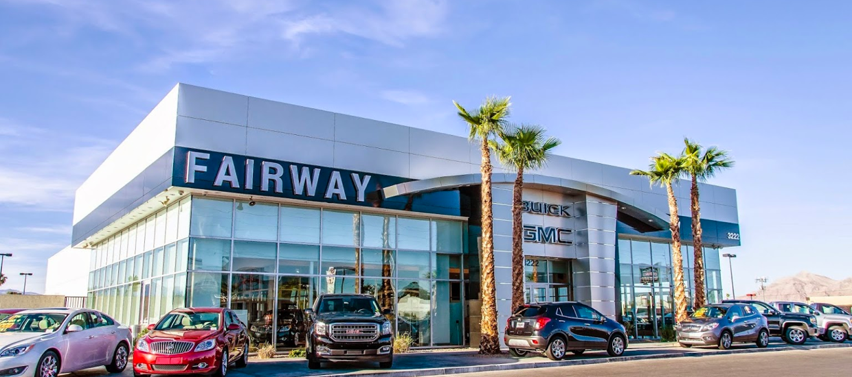 Exterior shot of the Fairway Buick GMC dealership